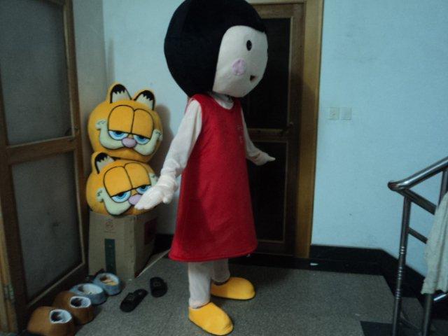 Cartoon Doll Clothing Cartoon Dolls Walking Cartoon Mascot Performance Clothing Midway Baby Girl Mascot Costume
