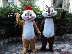 New Cartoon Doll Clothing Walking Cartoon Doll Performances Adult Costumes - Squirrel Pet Rat Mascot Costume