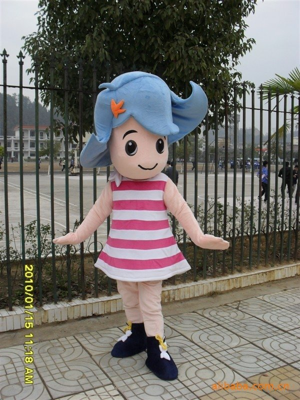 Stage Clothes People Wear Clothing Costume Movie Props Cartoon Dolls Dolls Doll Wigs Mascot Costume