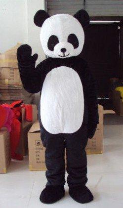Cartoon Doll Cartoon Panda Foreign Props People Wearing Doll Fashion Show Mascot Costume