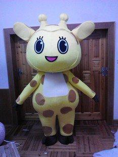 Madagascar Cartoon Dolls Doll Clothes Doll Clothing Giraffe Plush Toy Lion Zebra Headgear Mascot Costume