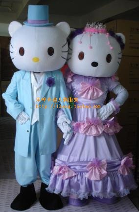 Performing Caps Cute Cat Lovers Wedding Props Cartoon Costumes Cartoon Doll Clothing Mascot Costume