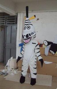 Manufacturers Dolls Walking Cartoon Clothing Performance Clothing Children Paradise Advertising Clothing Zebra Mascot Costume