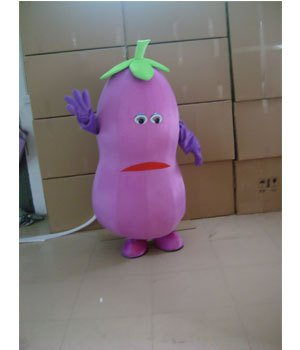 Cartoon Costumes Cartoon Clothing Doll Clothes Advertising Clothing Eggplant Mascot Costume