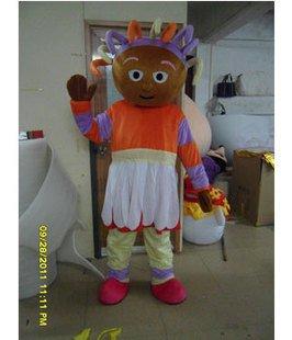 Cartoon Costumes Walking Doll Garden Baby Plush Dolls Well Xi Dixi Mascot Costume