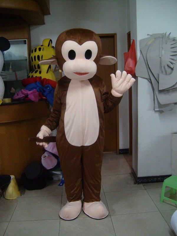 Monkey Cartoon Clothing Cartoon Walking Doll Clothing Stage Performance Clothing Jumping Monkey Advertising Mascot Costume