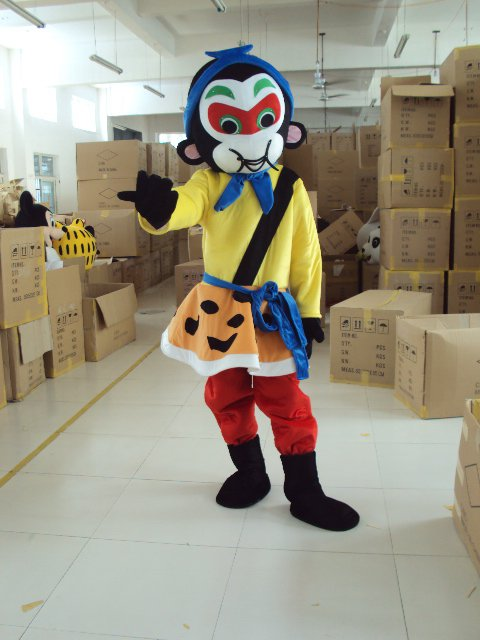 Film and Television Animation Cartoon Costume Monkey Monkey Monkey Advertising Supplies Japanese Costumes Mascot Costume
