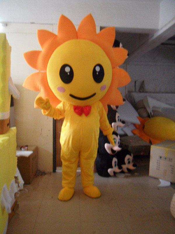 Japan Sunflower Cartoon Clothing Cartoon Doll Cartoon Costumes Stage Performance Props Sunflowers Mascot Costume