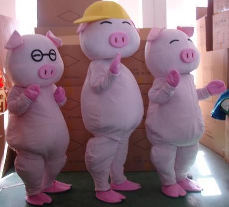 Mcdull Pig Cartoon Mascot Costume Cartoon Costumes Walking Cartoon Doll Clothing Performance Clothing Props