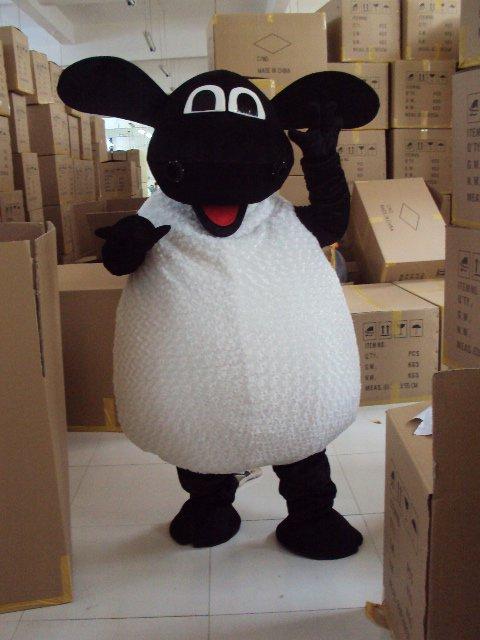 Sheep Mascot Cartoon Costumes Belly Sheep Shaun The Sheep Zodiac Sheep Film and Television Animation Props Mascot Costume