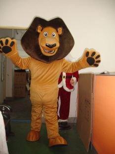 Television Cartoon Madagascar Lion Costume Lion Costumes Celebration Activities Mascot Costume