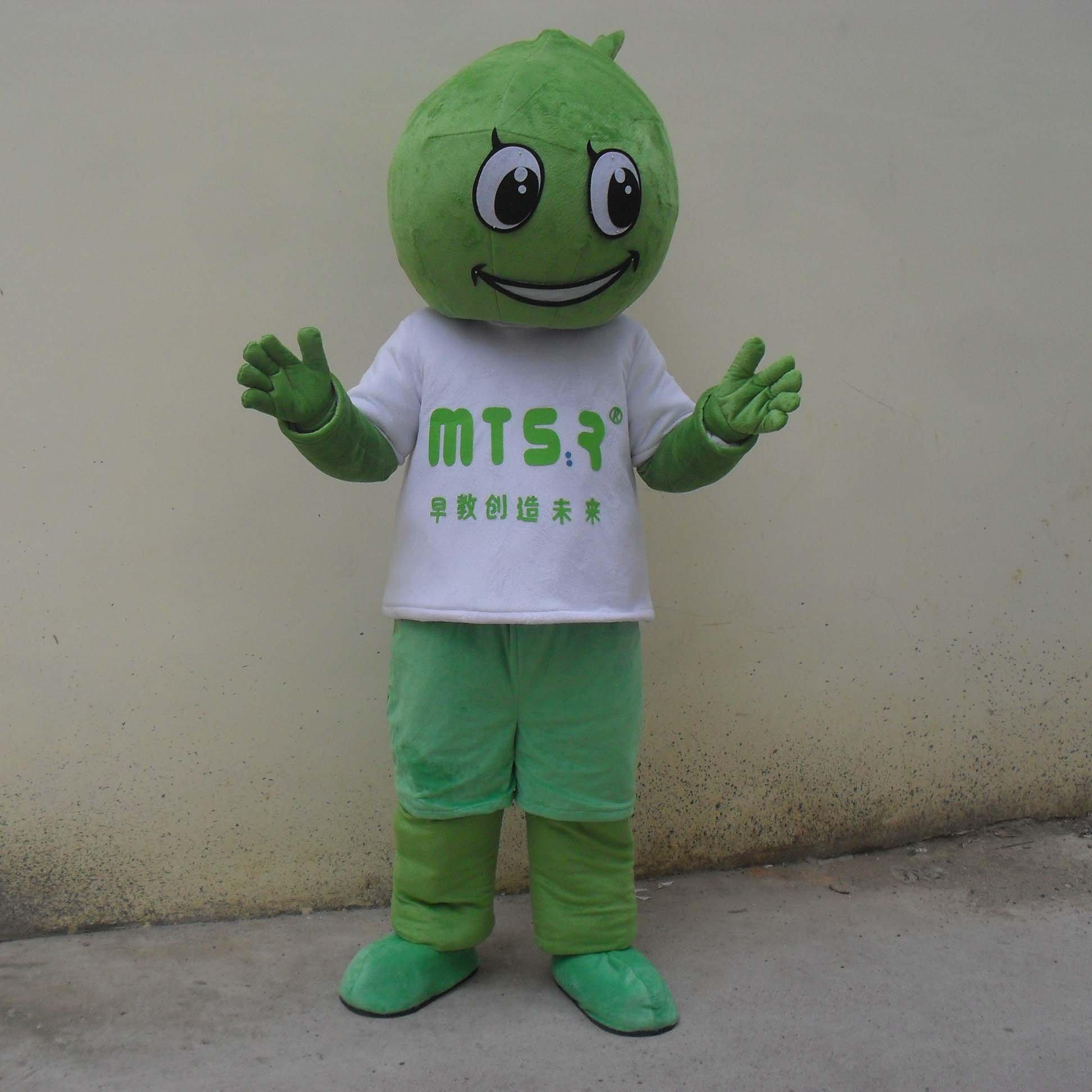 Cabbage Cartoon Dolls Walking Cartoon Costumes Performing Props Vegetables Cabbage Dolls Advertising Mascot Costume