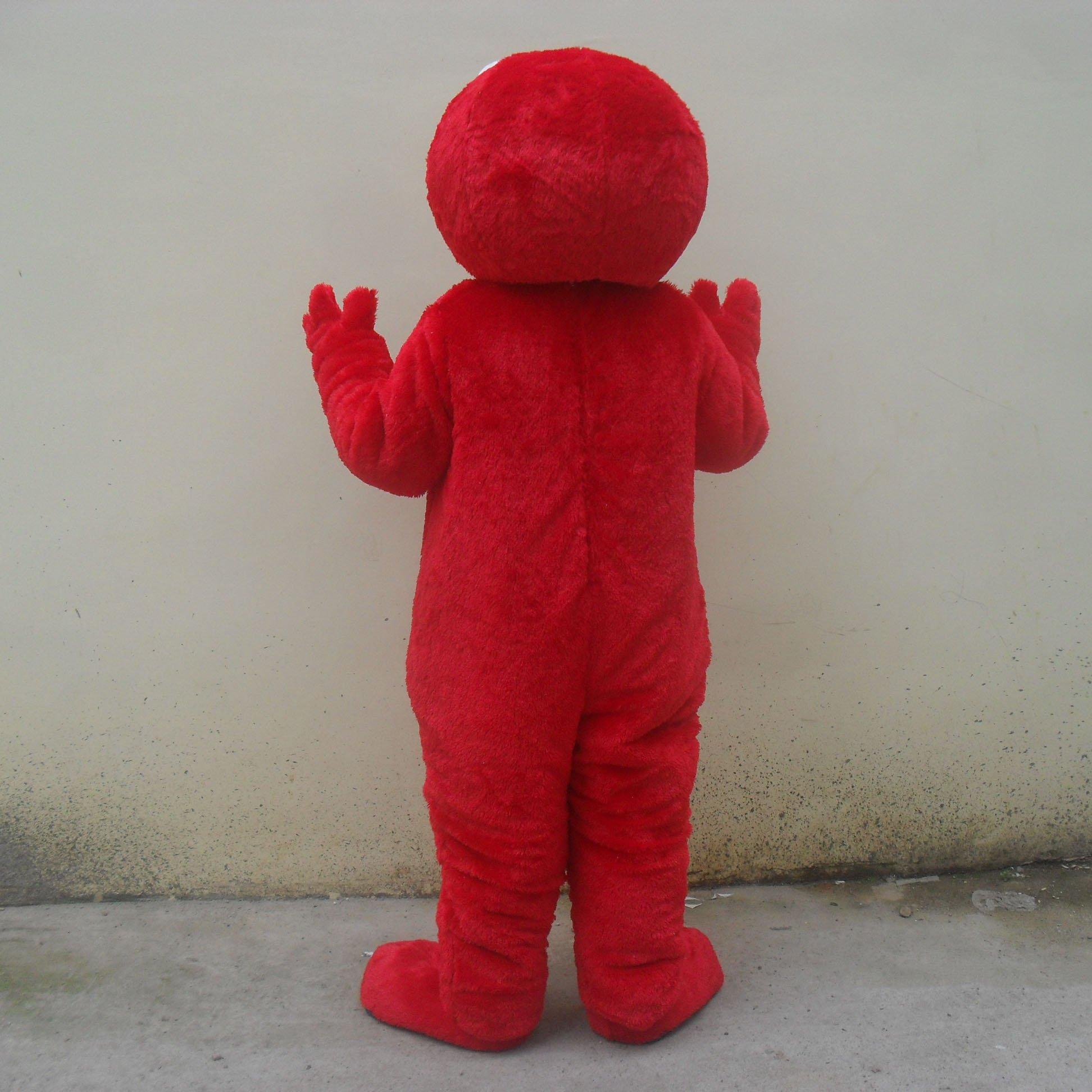 Cartoon Doll Clothing Doll Clothing Cartoon Orang Strange Emlo Mascot Costume