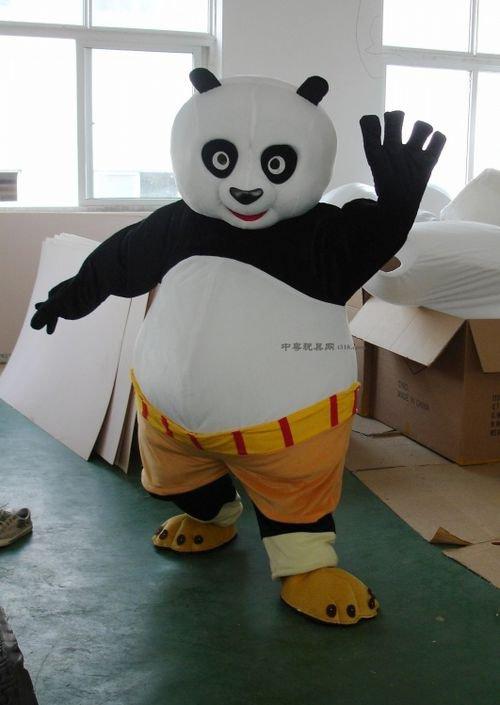 Film and Television Animation Performance Clothing Walking Cartoon Kung Fu Panda Kung Fu Panda Costume Dolls Mascot Costume