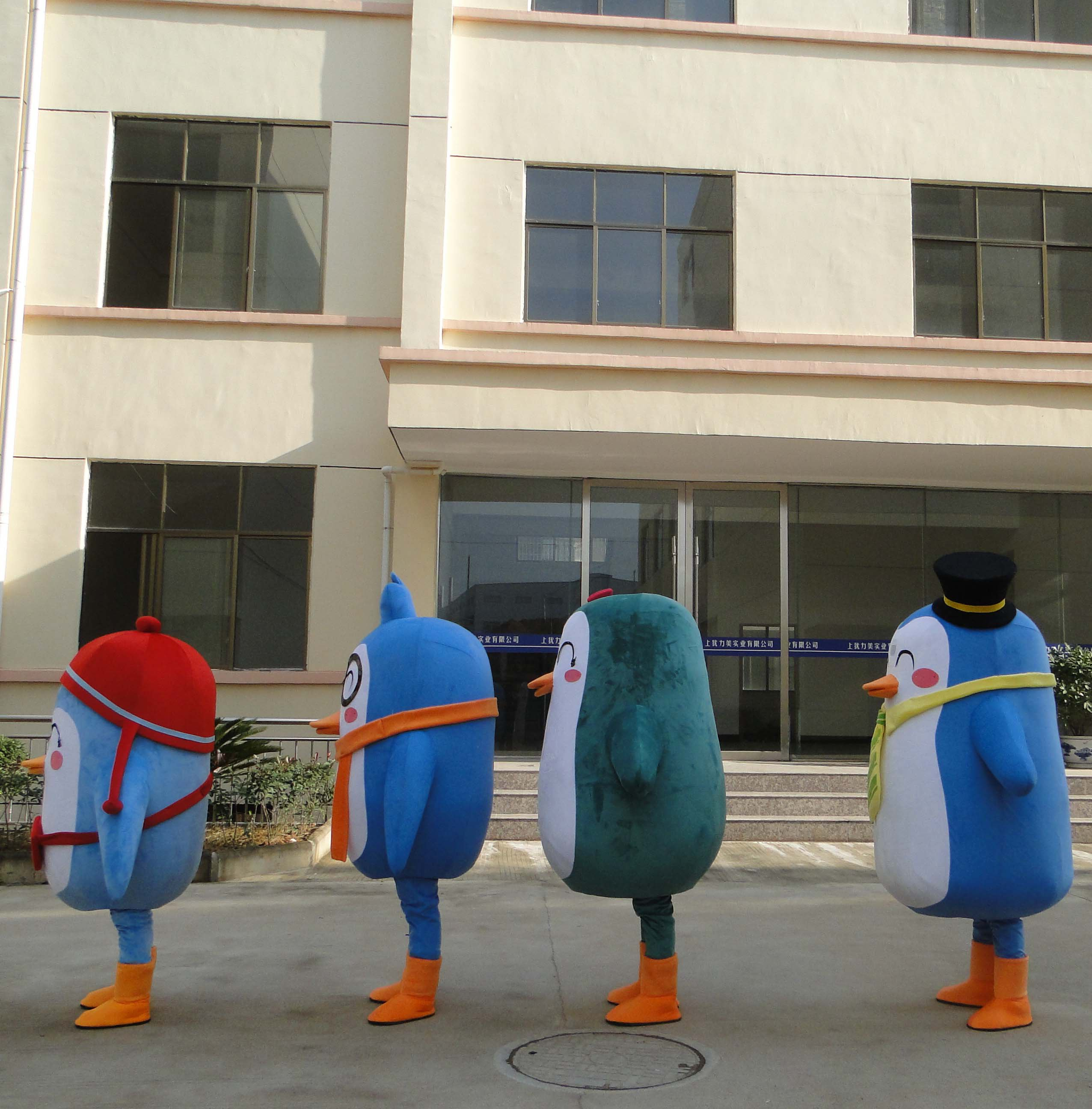 Penguin Cartoon Dolls Doll Clothing Large Doll Doll Cartoon Mascot Performance Props Mascot Costume