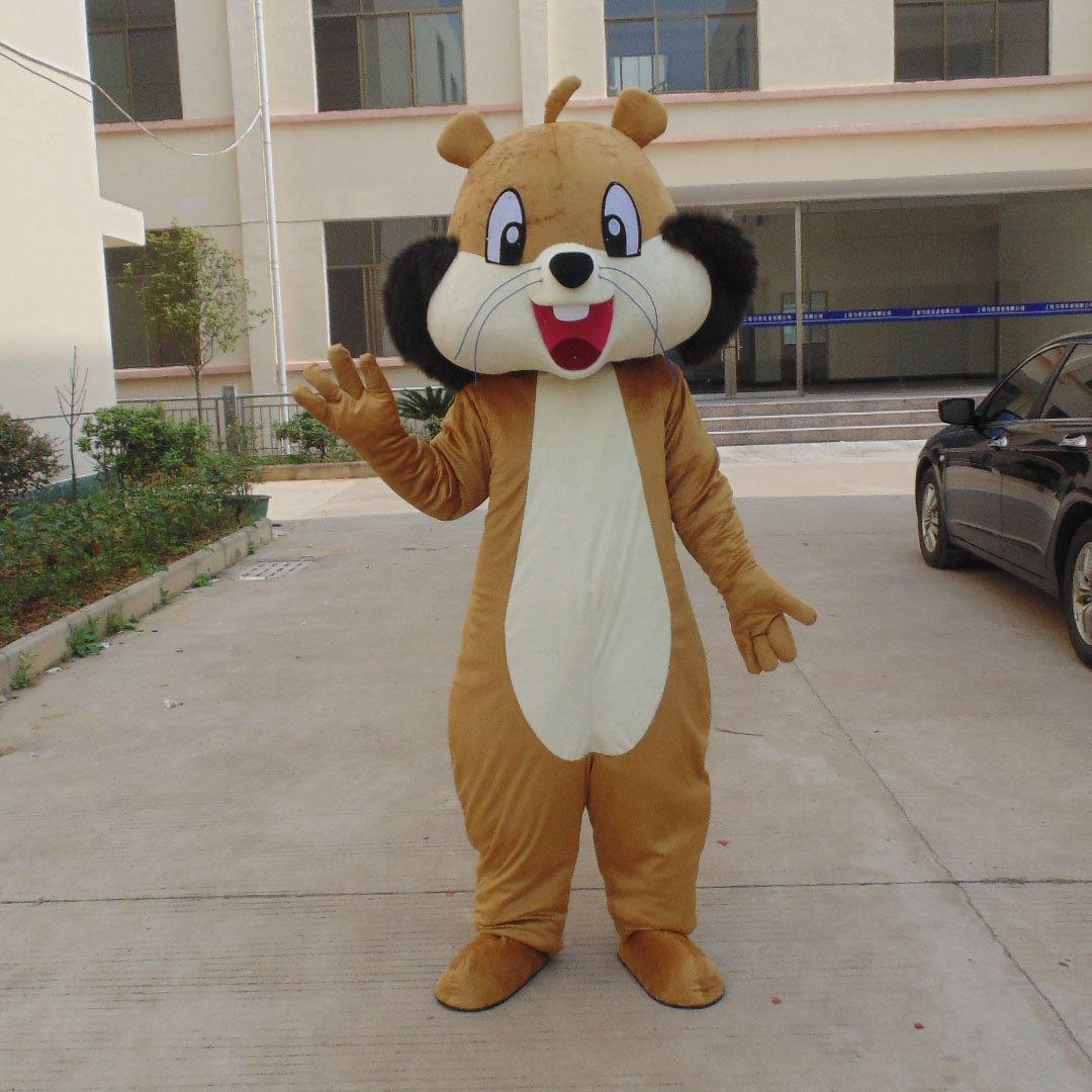 Squirrel Cartoon Costumes Walking Cartoon Doll Clothing Doll Clothing Cartoon Dolls Dolls Props Mascot Costume