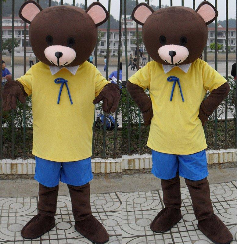 Bear Cartoon Doll Clothing Cartoon Walking Doll Clothing Cartoon Show Clothing Doll Clothes Mascot Costume