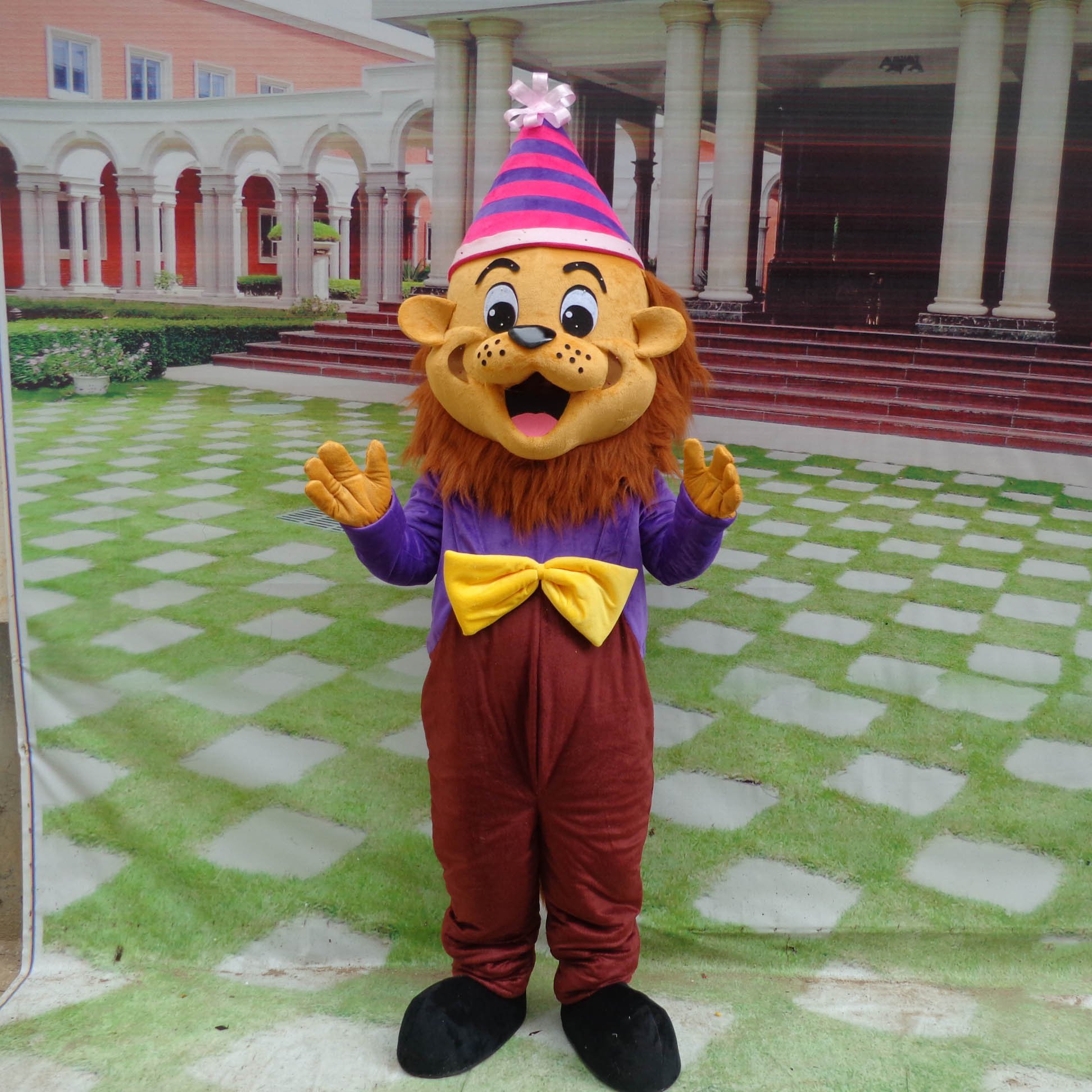 Cartoon Doll Clothing Cartoon Walking Doll Clothing Cartoon Show Clothing Lion Cartoon Doll Doll Clothes Mascot Costume