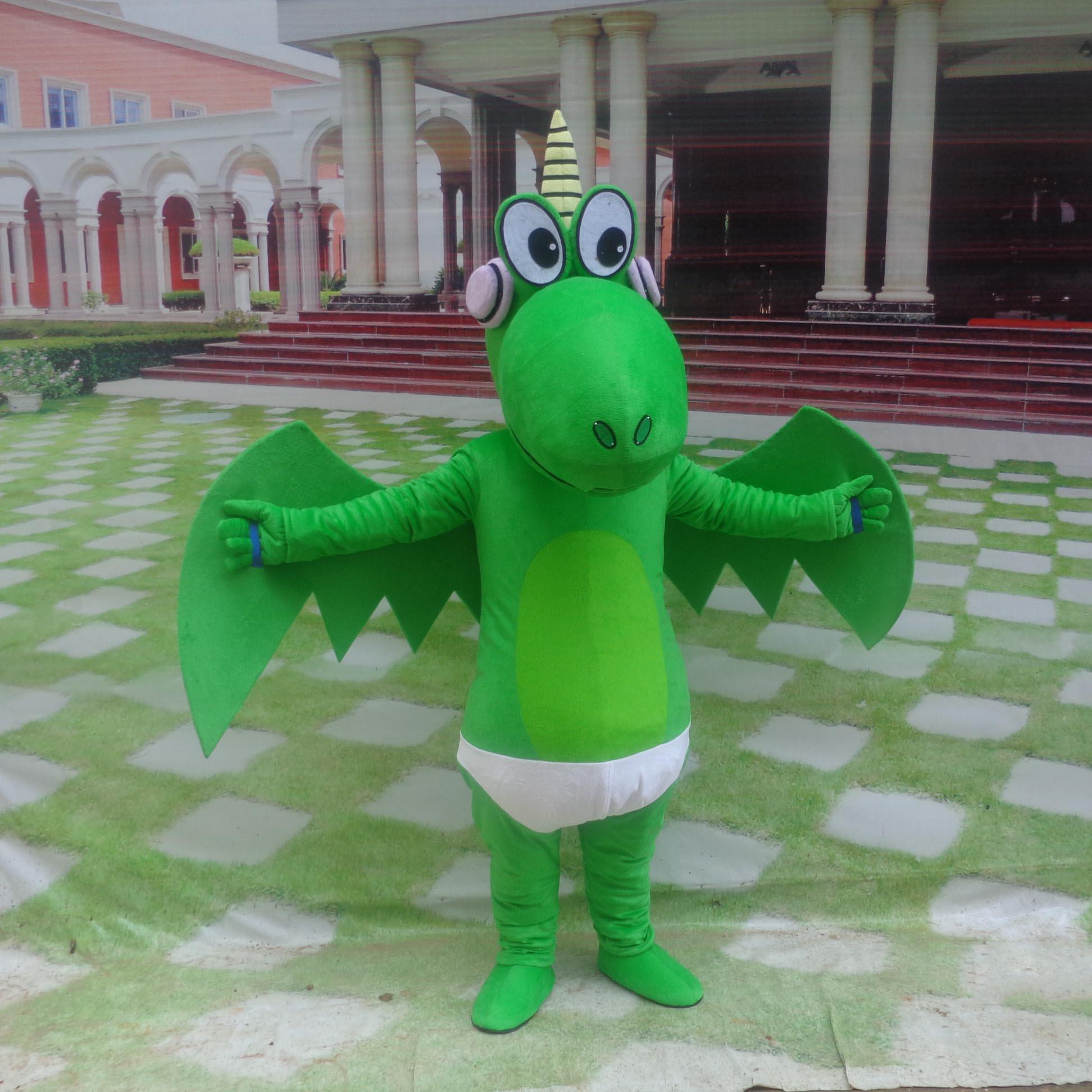 Cartoon Doll Clothing Cartoon Walking Doll Clothing Cartoon Show Clothing Plush Cartoon Dolls Clothes Dragon Mascot Costume