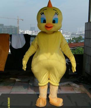 Cartoon Doll Clothing Cartoon Walking Doll Clothing Cartoon Show Clothing Plush Doll Doll Small Yellow Chicken Suit Mascot Costume