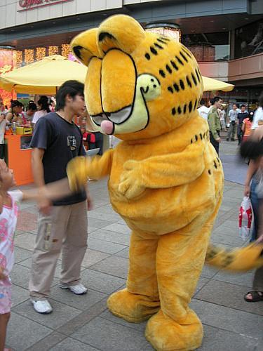 Garfield Cartoon Dolls Cartoon Clothing Cartoon Walking Doll Cartoon Clothing Cartoon Dolls Dolls Props Mascot Costume