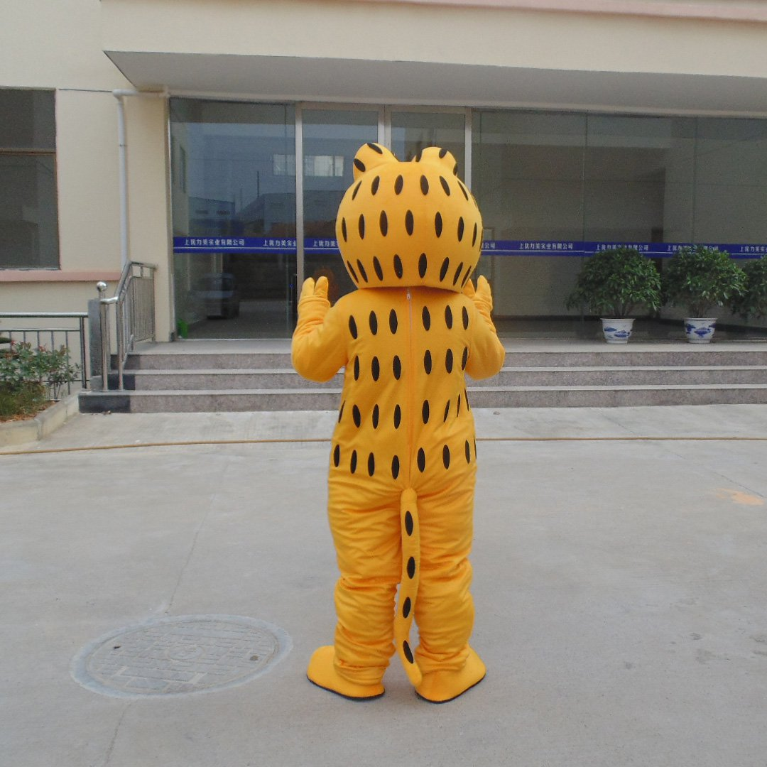Garfield Cartoon Dolls Doll Clothing Christmas Activity Adult Walking Doll Clothing Performance Clothing Clothes Mascot Costume