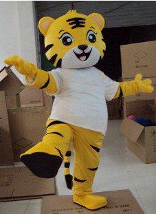 Anli Hu Tiger Costume Adult Cartoon Dolls Walking Cartoon Dolls Dolls Costumes Conventional Version Mascot Costume