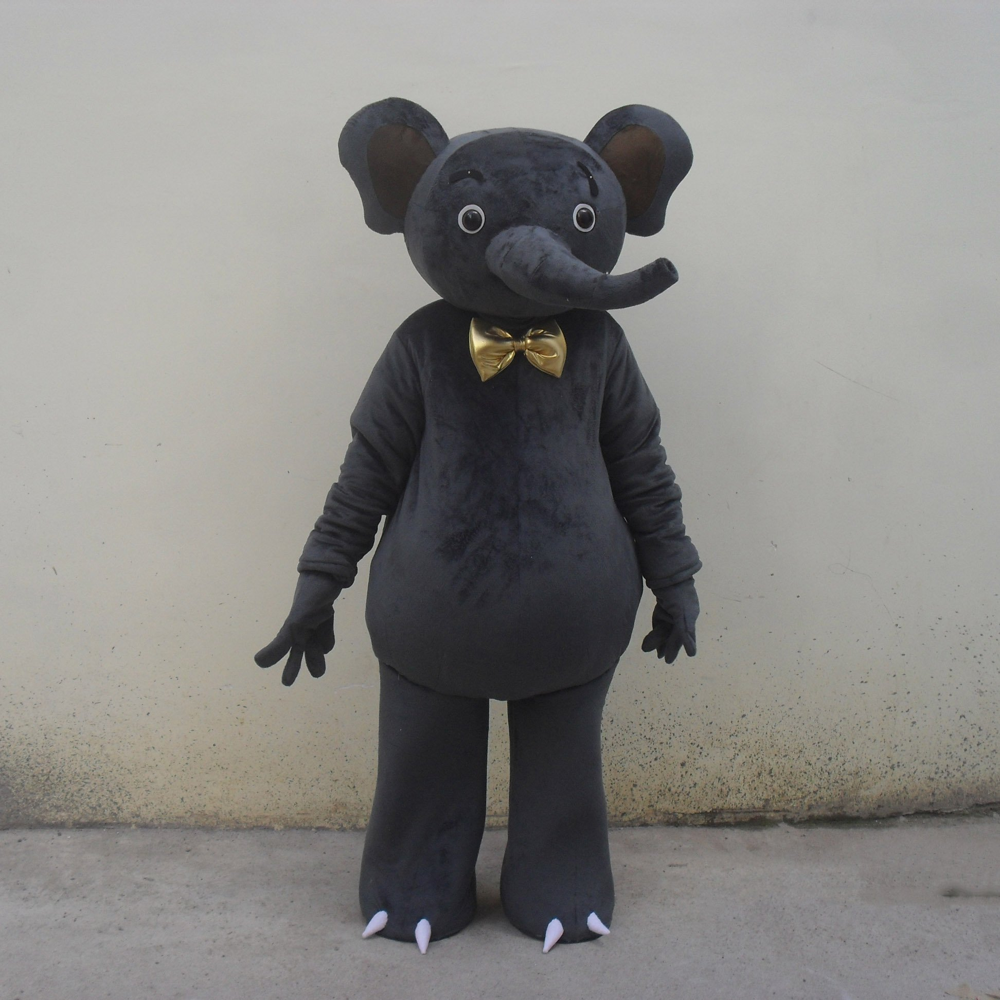 Cartoon Doll Clothing Cartoon Walking Doll Clothing Cartoon Show Clothing Doll Clothes Big Black Elephant Mascot Costume