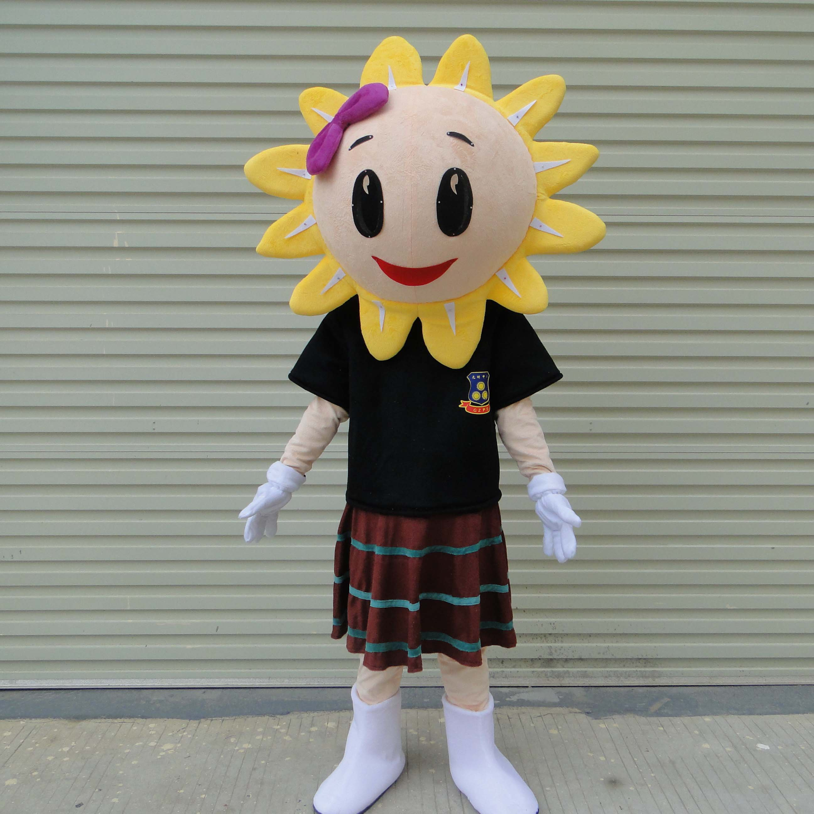 Doll Clothing Doll Clothing Cartoon Sunflower Adult Costumes Walking Unlucky Activities Performed Doll Mascot Costume