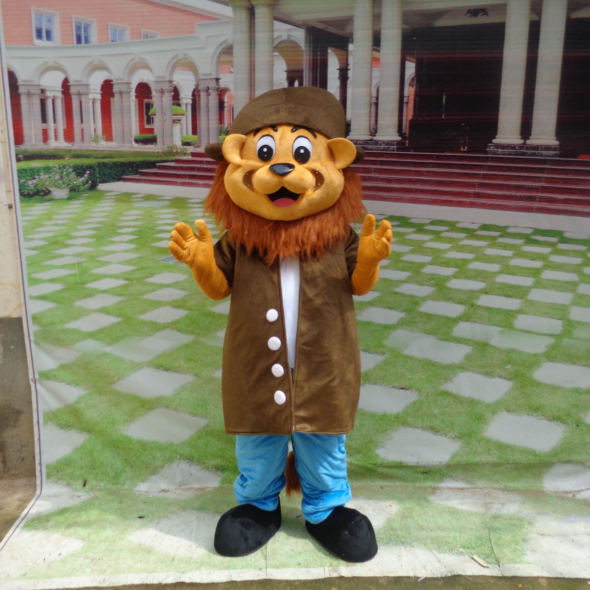 Lion Cartoon Doll Clothing Cartoon Walking Doll Clothing Doll Clothing Doll Clothing Cartoon Show Props Mascot Costume