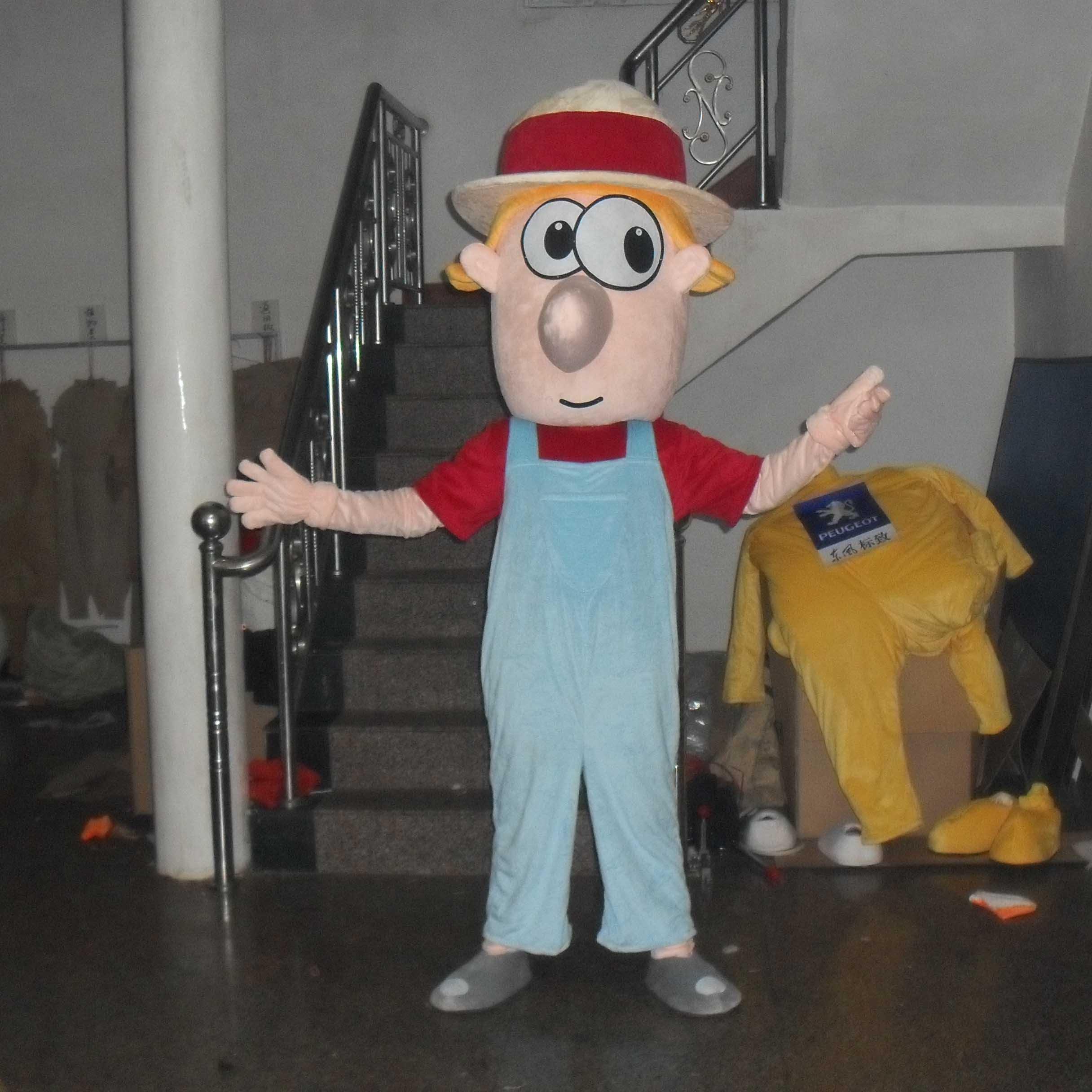 Cartoon Characters Cartoon Doll Clothing Cartoon Walking Doll Clothing Cartoon Show Clothing Doll Clothes Mascot Costume