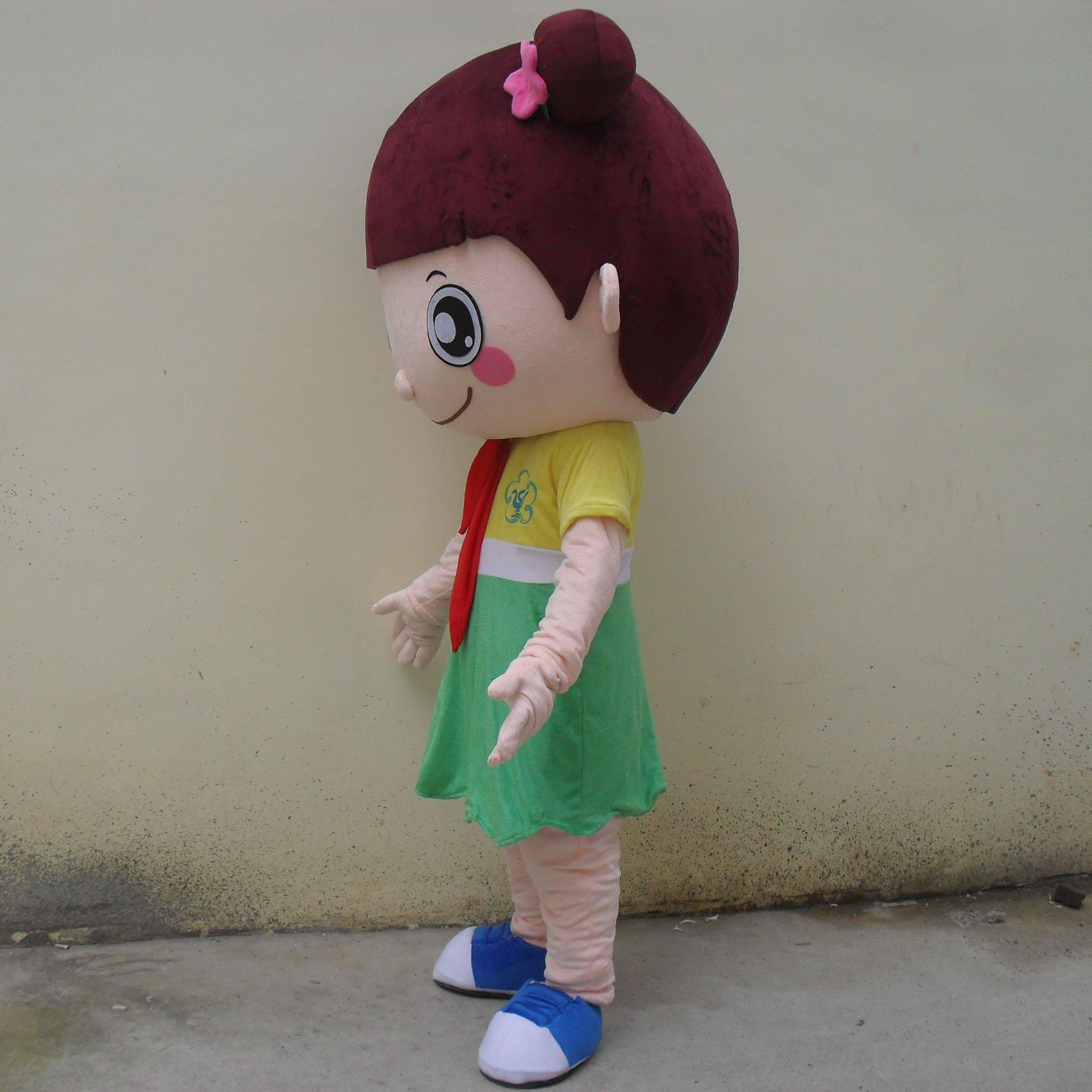 Cartoon Doll Clothing Cartoon Walking Doll Clothing Cartoon Show Clothing Plush Doll Dress Girl Mascot Costume