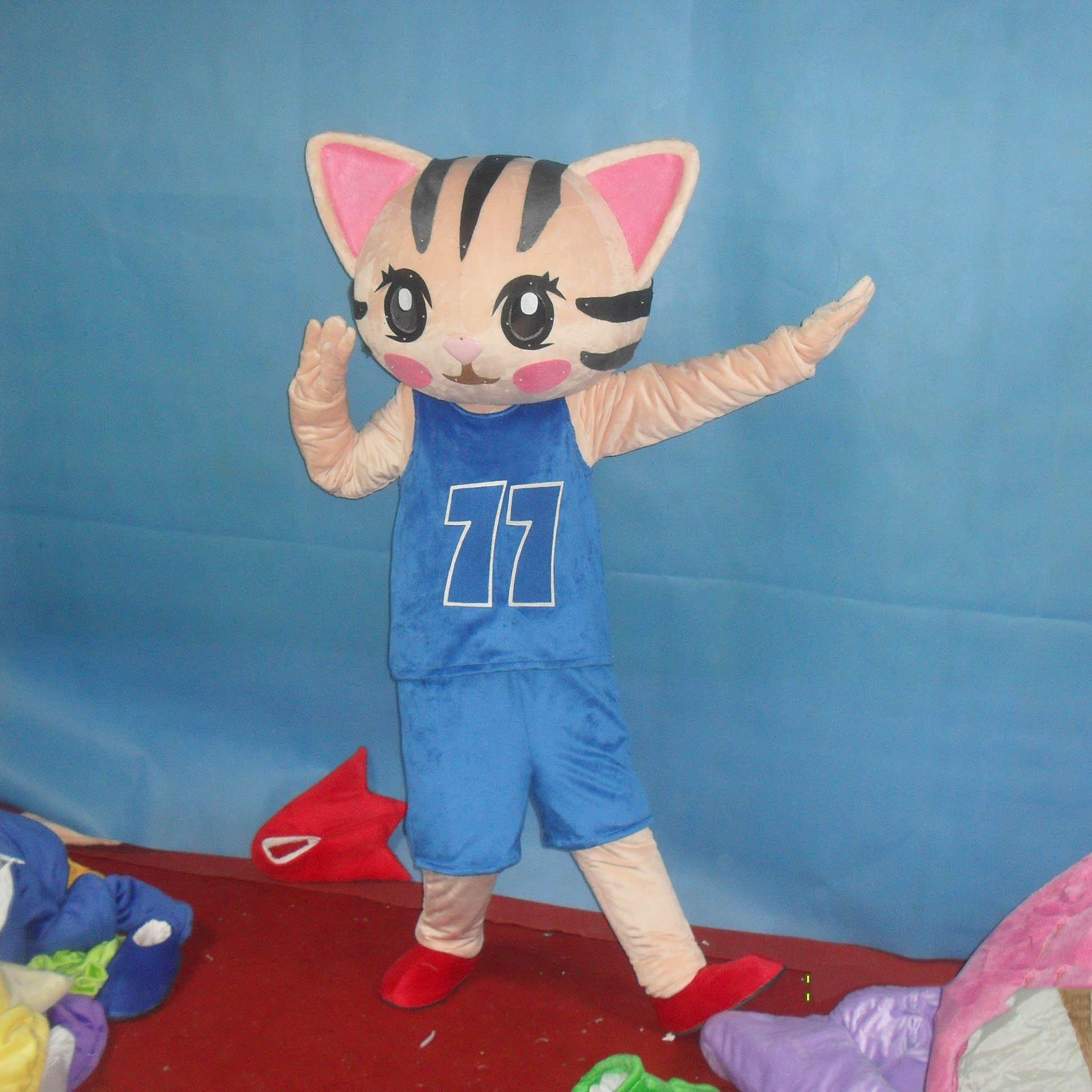 Cute Kitten Cartoon Doll Clothing Cartoon Walking Doll Clothing Cartoon Show Clothing Doll Clothes Mascot Costume