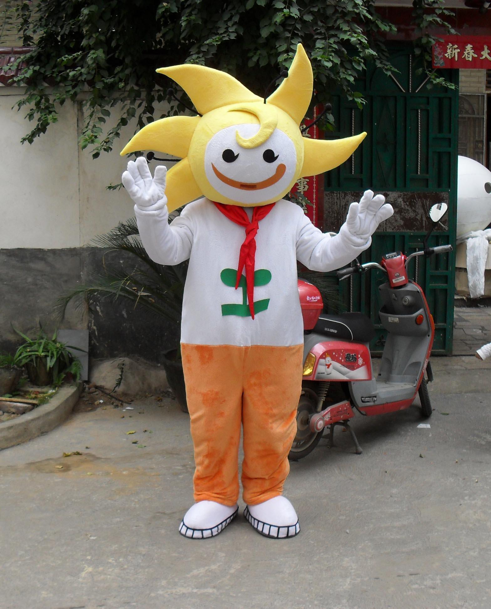 Little Sun Cartoon Doll Clothing Doll Clothing Cartoon Walking Doll Cartoon Props Corporate Mascot Dolls Mascot Costume