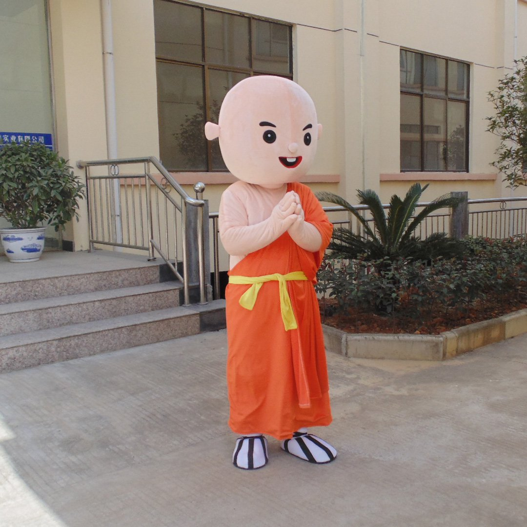 Monk Doll Toy Doll Show Props Doll Cartoon Clothing Doll Clothes 4-COLOR Advertising Activities Mascot Costume