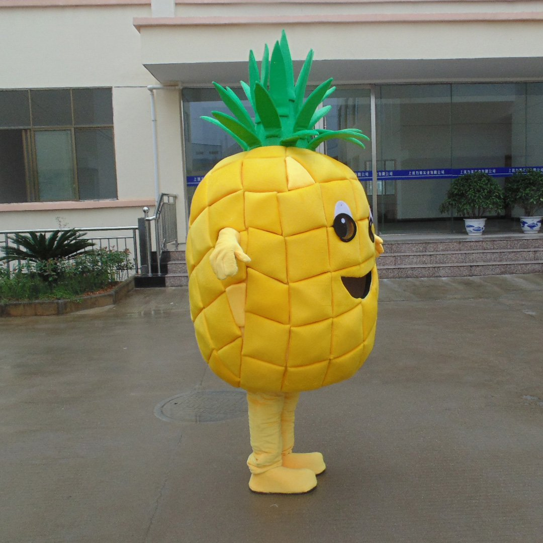 Plant Pineapple Cartoon Dolls Dolls Dolls Clothing Advertising Props Performance Clothing Celebration Activities Doll Clothing Mascot Costume