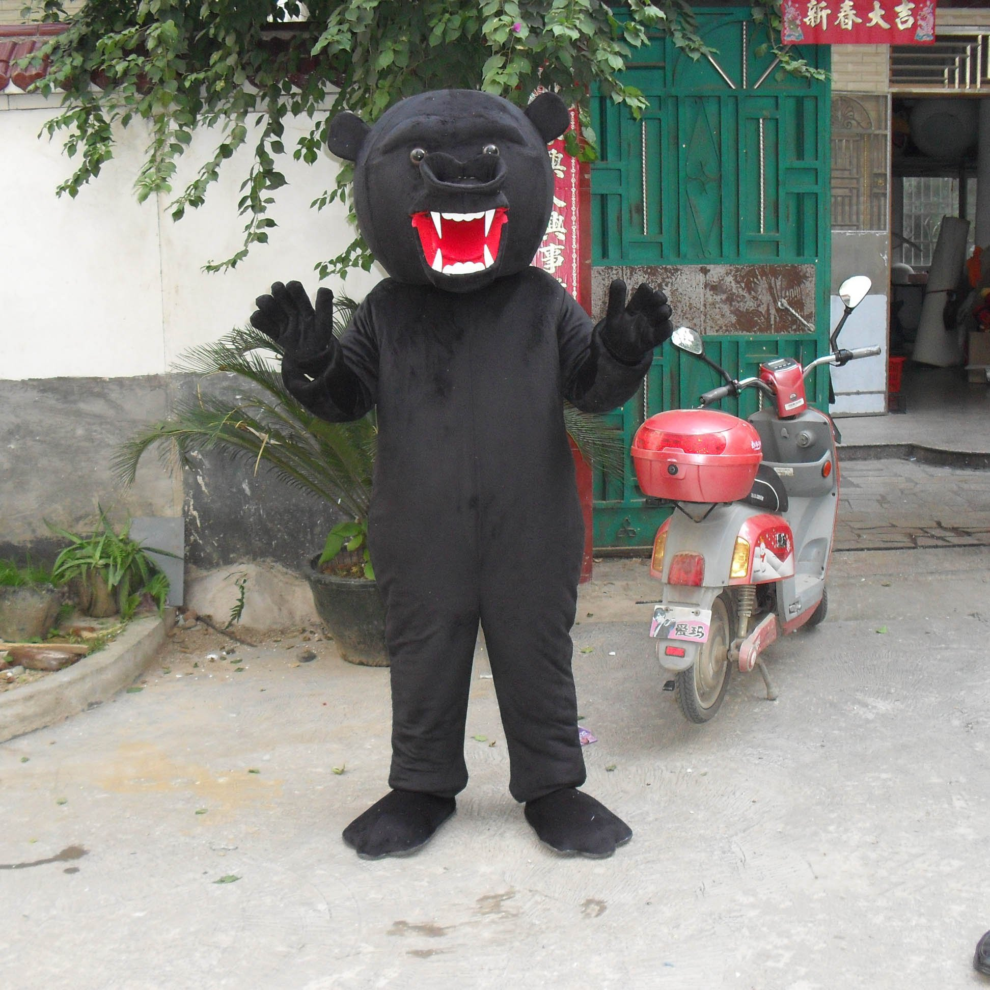 Cartoon Doll Clothing Cartoon Walking Doll Clothing Cartoon Show Clothing Cartoon Dolls Dolls Clothes Big Black Bear Mascot Costume
