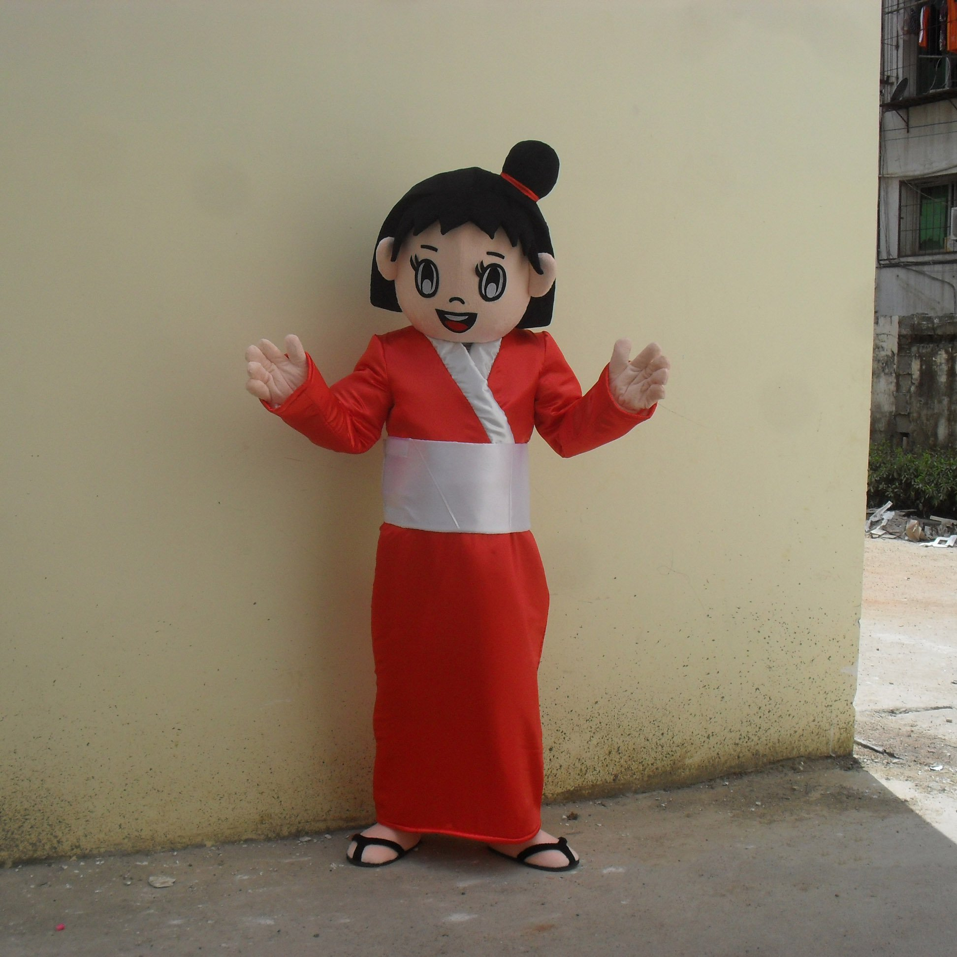 Cartoon Doll Clothing Cartoon Walking Doll Clothing Cartoon Show Clothing Japan This Girl Doll Clothes Mascot Costume