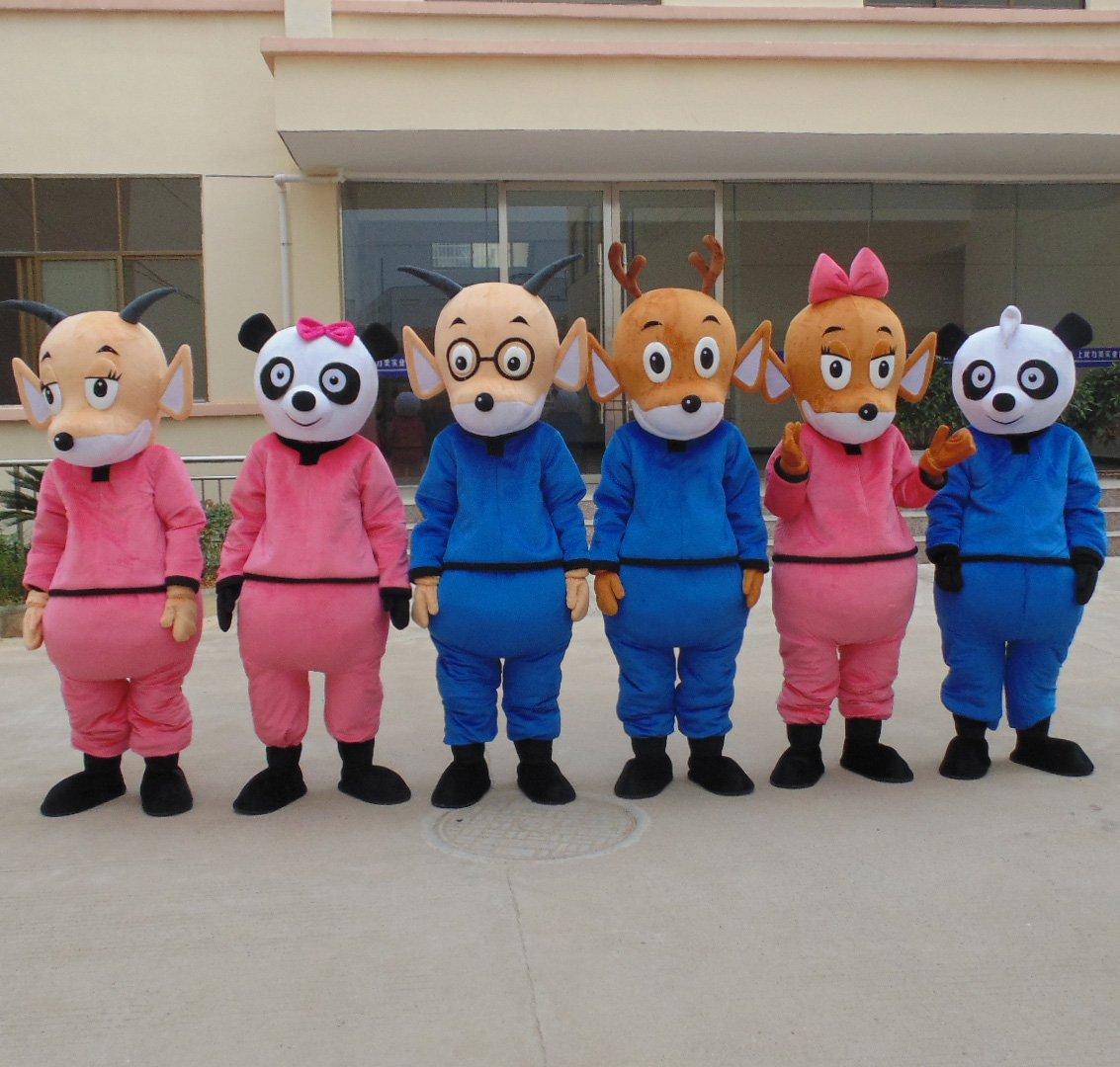 Cartoon Doll Doll Clothing Cartoon Animation Cartoon Dolls Clothing Walking Advertisements Mascot Costume