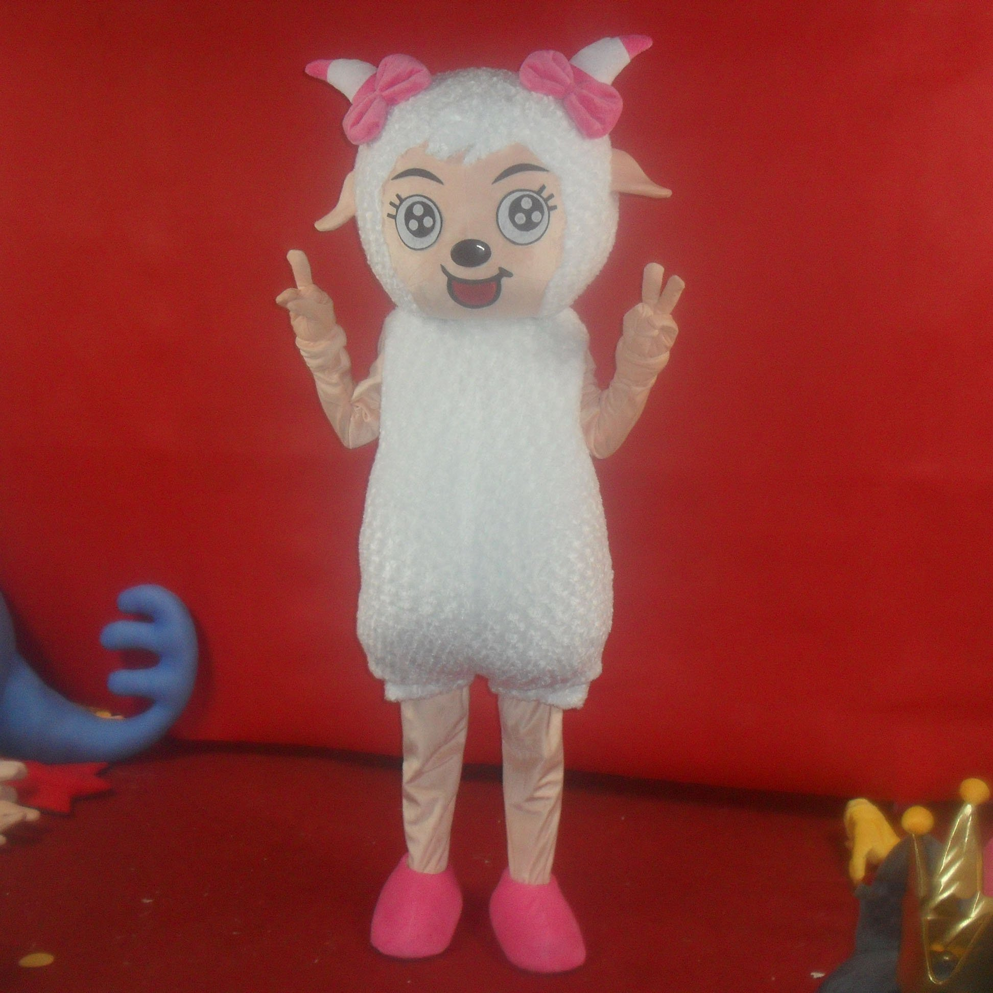 Dolls Walking Cartoon Animation Clothing Radiant Wolf Cartoon Dolls Frankie Costumes Mascot Costume