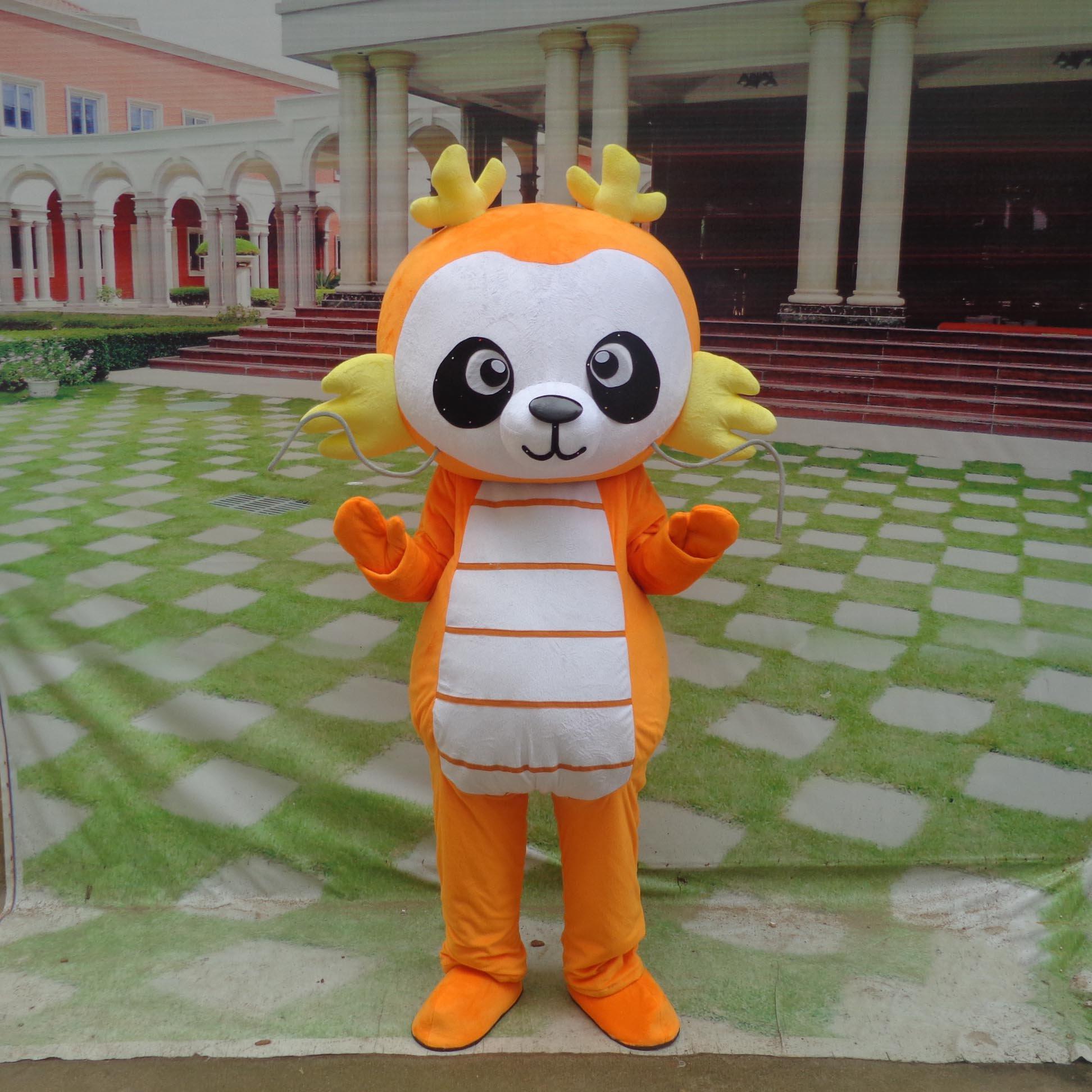 Dragons Cute Cartoon Walking Doll Clothing Cartoon Dolls Cartoon Doll Dress Costumes Mascot Costume