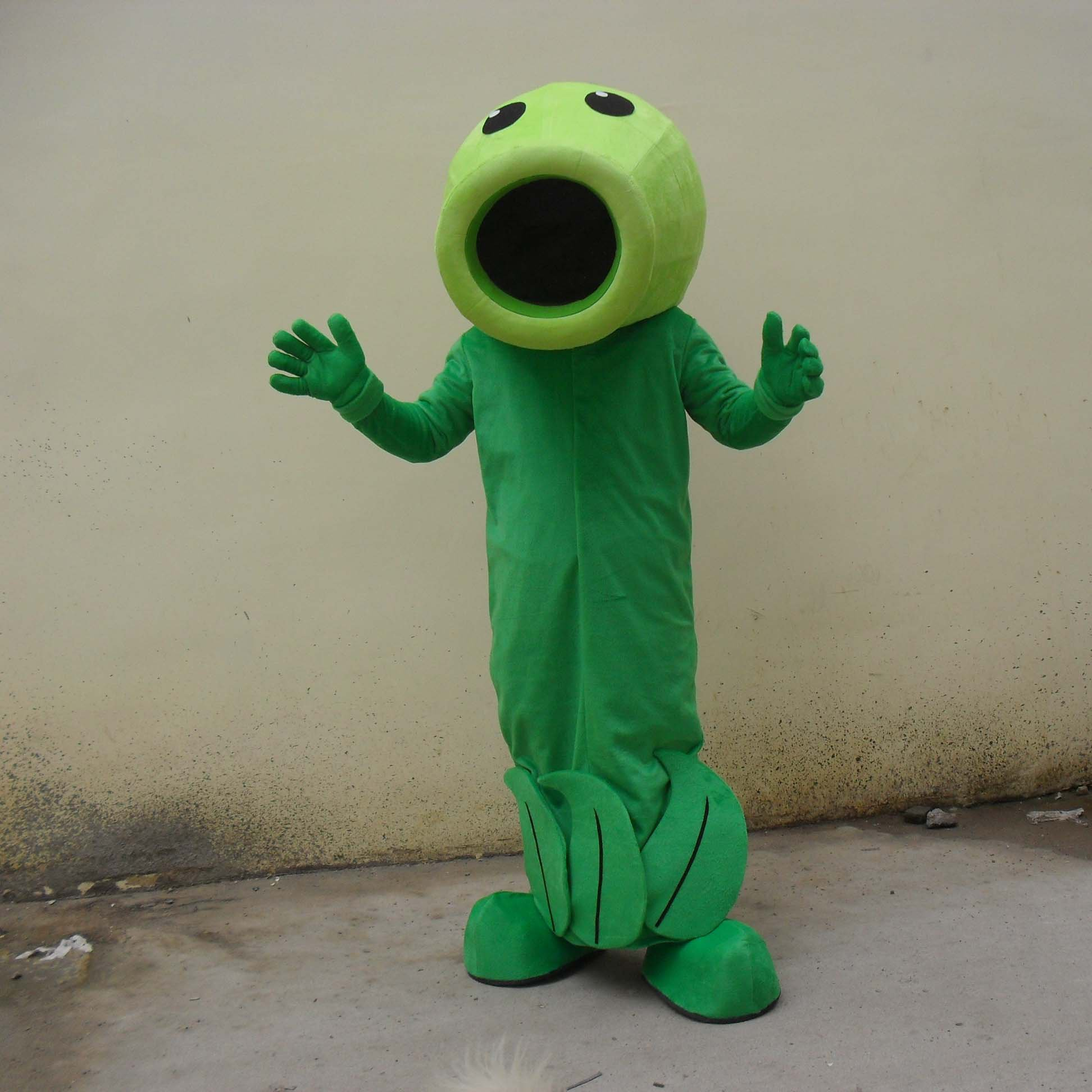 Pea Pea Walking Cartoon Doll Clothing Cartoon Show Props Cartoon Dolls Clothing Peas Mascot Costume