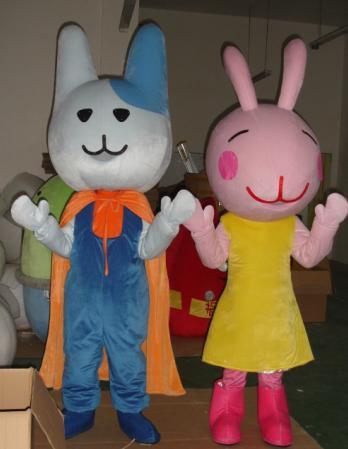 Rabbit Cartoon Doll Clothing Cartoon Walking Doll Clothing Doll Clothing Doll Clothing Cartoon Show Props Mascot Costume