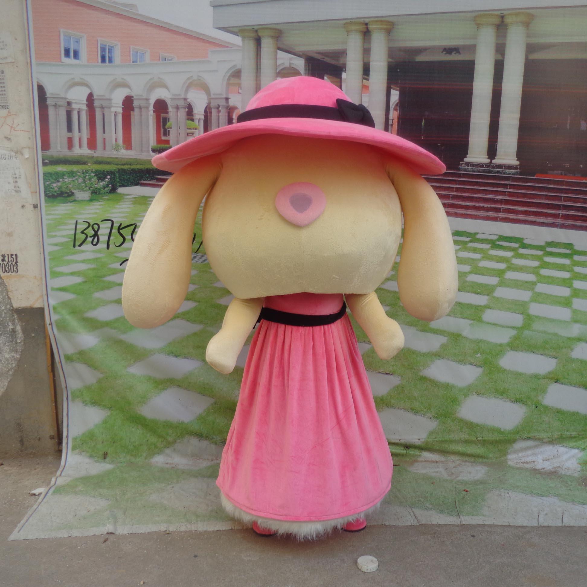 Cartoon Doll Doll Clothing Cartoon Walking Doll Cartoon Costumes Doll Dress Mascot Costume