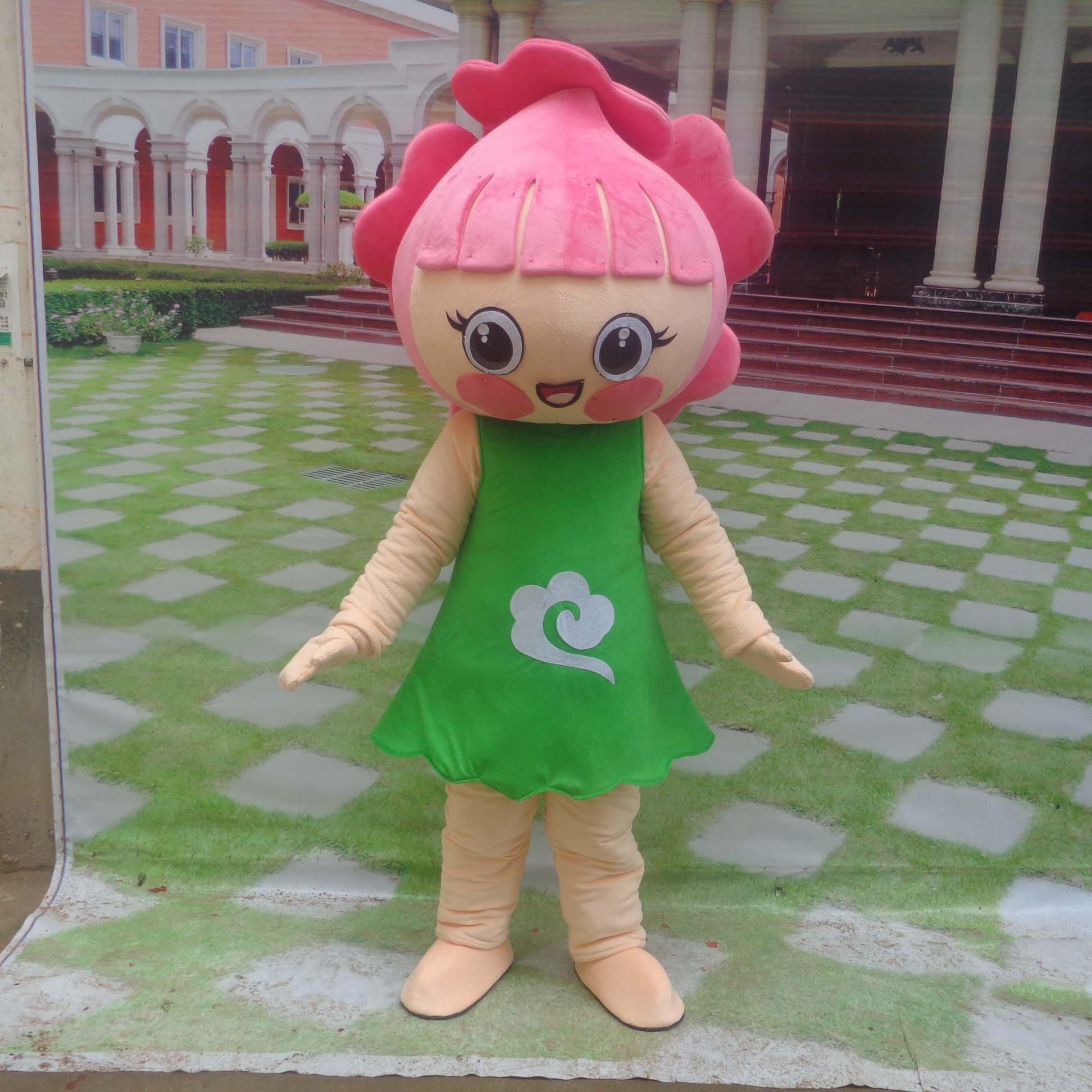 Peaches Peaches Walking Cartoon Doll Clothing Cartoon Costumes Performing Props Cartoon Dolls Peaches Mascot Costume