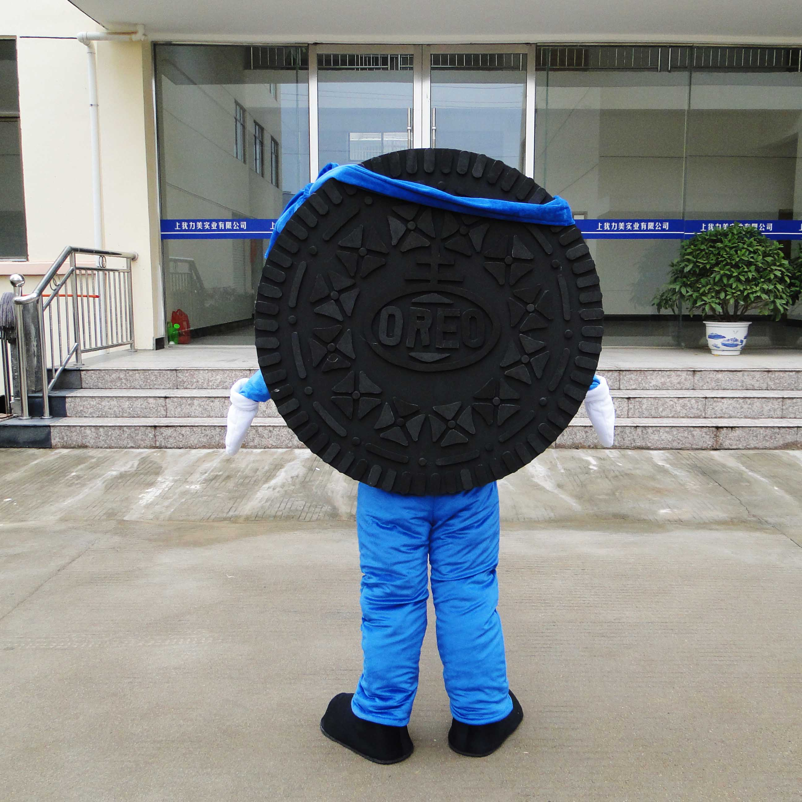 Cartoon Doll Clothing Doll Dress Costumes Product Doll Corporate Mascot Oreo Cookies Mascot Costume