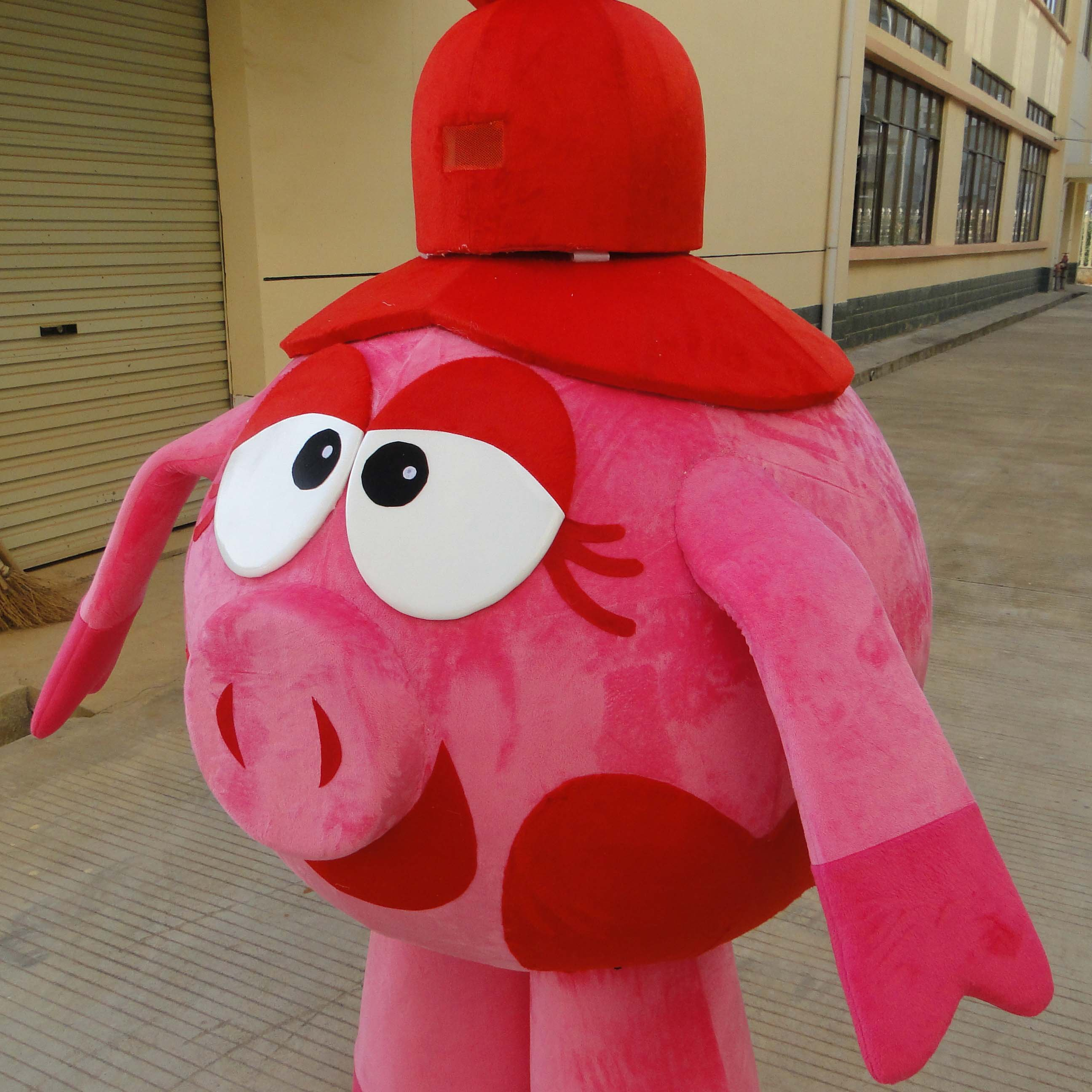 Cartoon Doll Clothing Pig Pink Pig Sister Doll Clothing Promotional Activities Props Cartoon Dress Clothes Mascot Costume