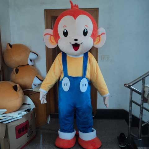 Little Monkey Cartoon Doll Clothing Cartoon Walking Doll Clothing Cartoon Show Clothing Doll Clothes Mascot Costume