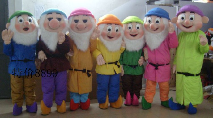 Manufacturers Cartoon Cartoon Doll Doll Clothing Christmas Clothing Clothing Clothing Dwarfs Mascot Costume