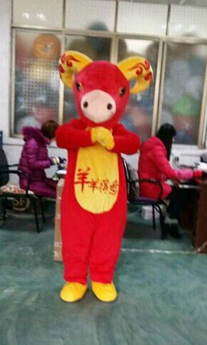 Manufacturers Cartoon Doll Clothing Doll Clothing Cartoon Walking Doll Sheep Goat Mascot Mascot Costume